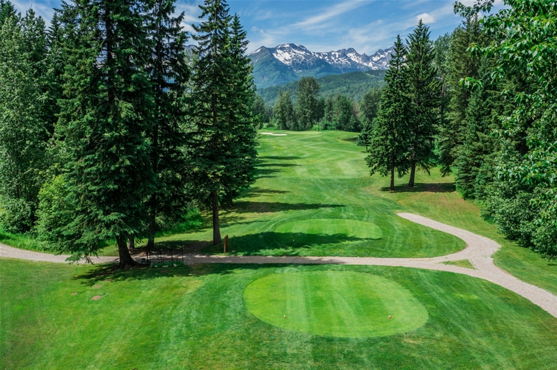 Fernie Golf & Country Club - Hole 17