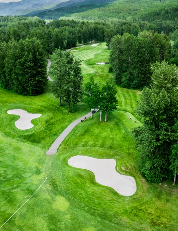 Fernie Golf & Country Club - Hole 2