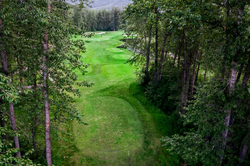 Fernie Golf & Country Club - Hole 3