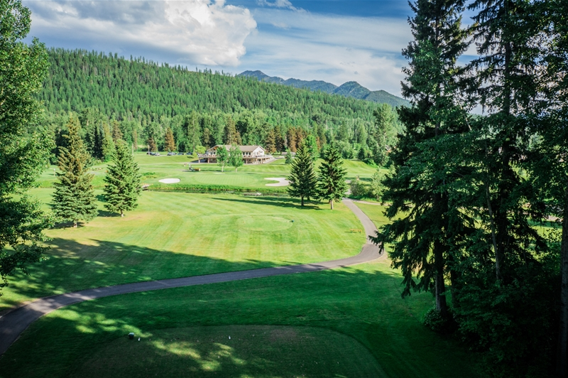 Fernie Golf & Country Club - Hole 5