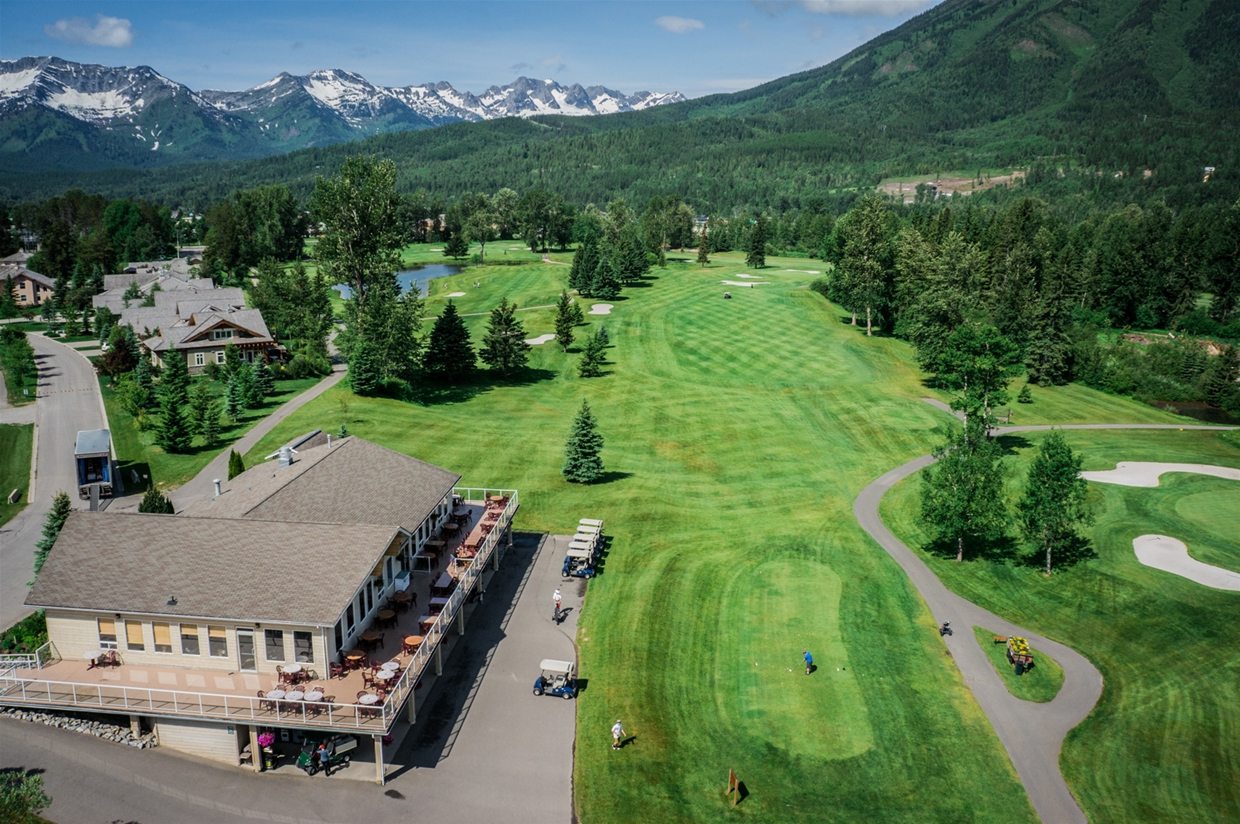 Fernie Golf & Country Club - Hole 6
