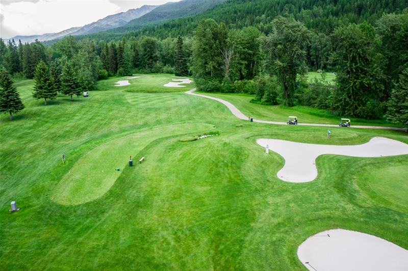 Fernie Golf & Country Club - Hole 7