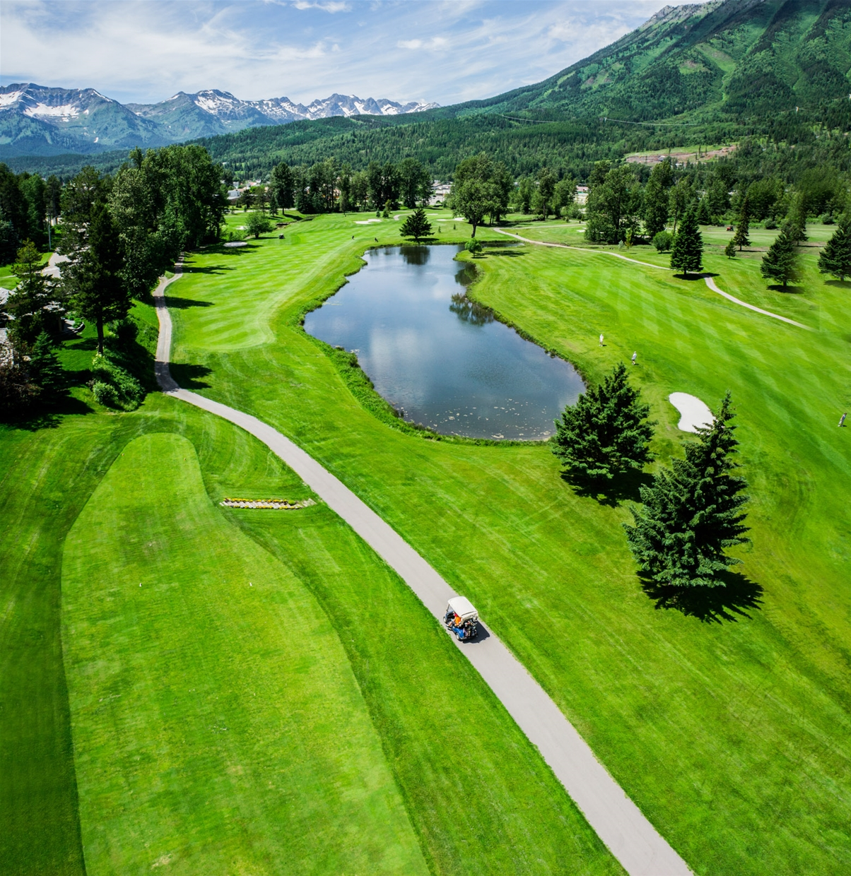 Fernie Golf & Country Club - Hole 10