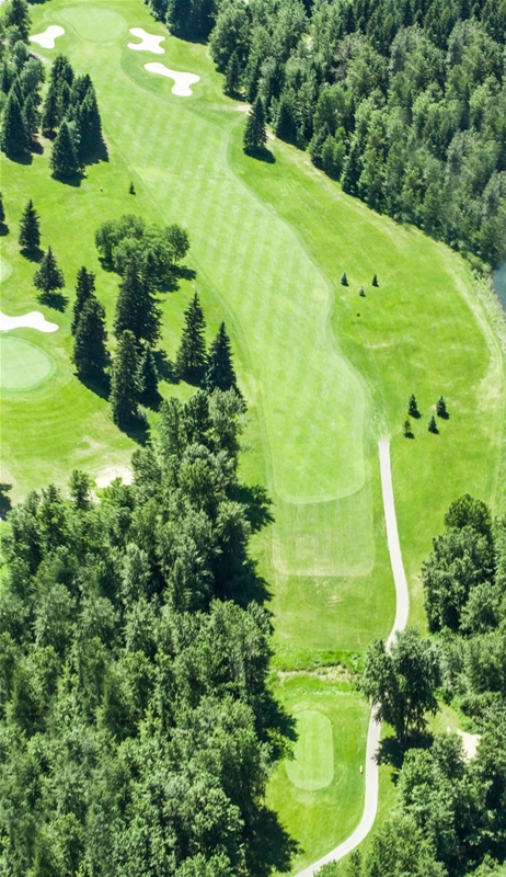 Fernie Golf & Country Club - Hole 4