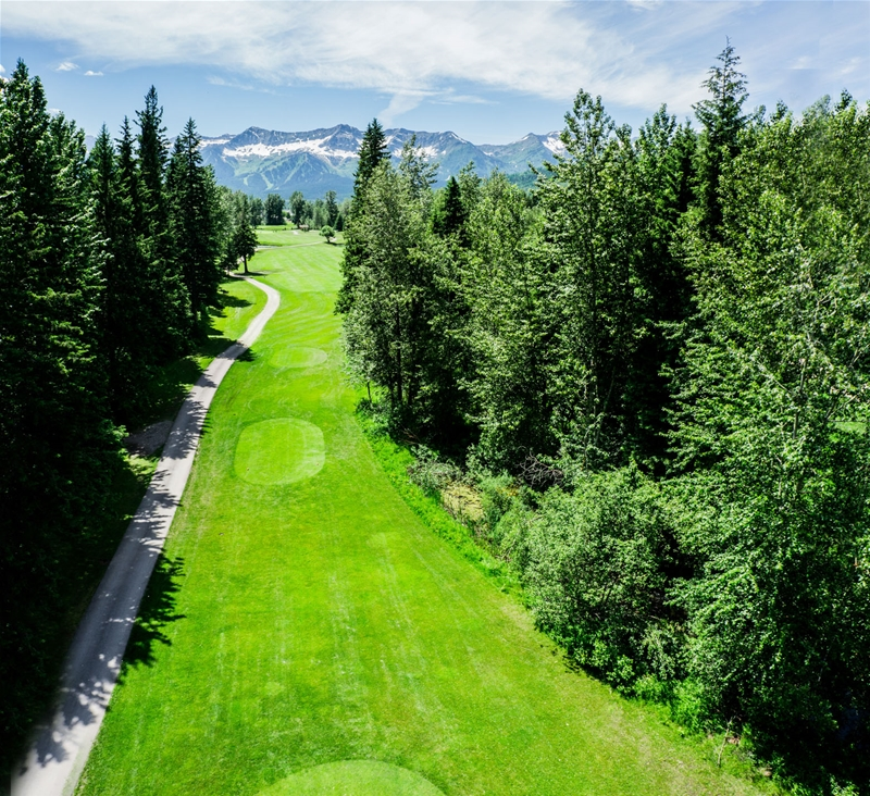 Fernie Golf & Country Club - Hole 8