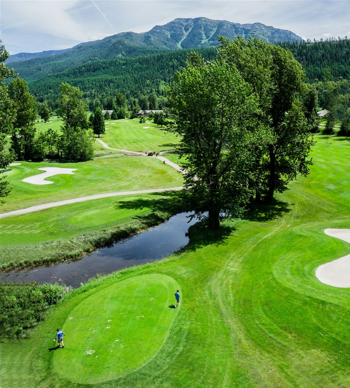 Fernie Golf & Country Club - Hole 9