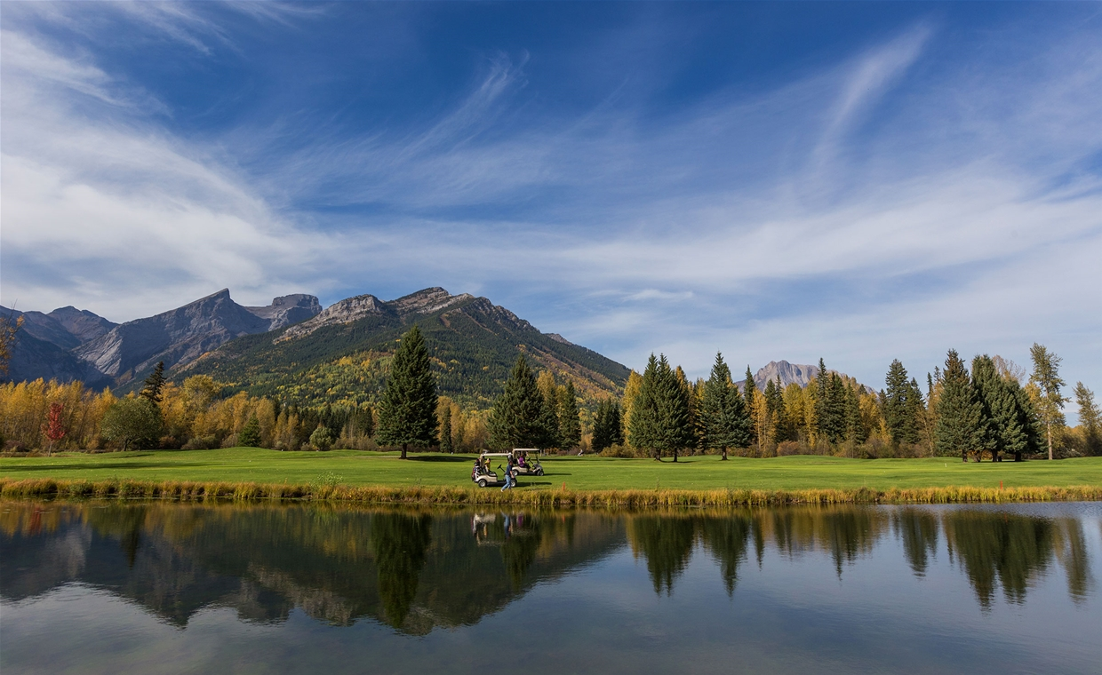 Fernie Golf Club in Autumn