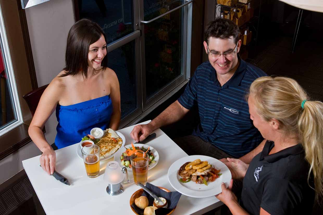 Dining at Fernie Golf and Country Club