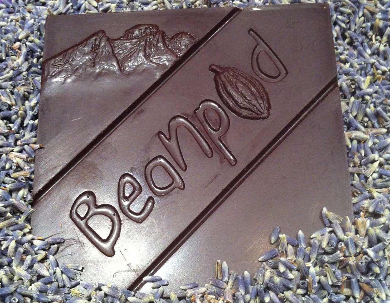 Beanpod Handcrafted Chocolate - Lavender Bar