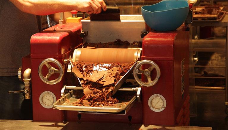 Beanpod making chocolate on 100 year-old machines
