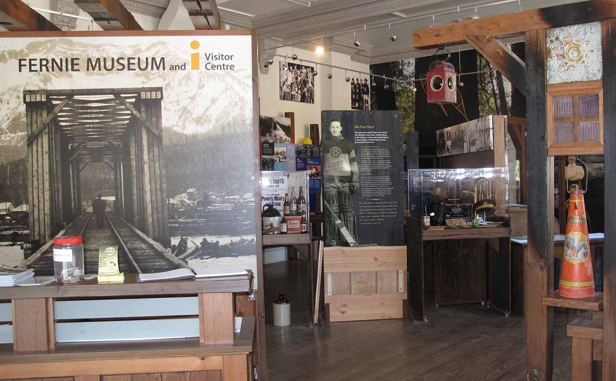 Fernie Museum - Exhibit
