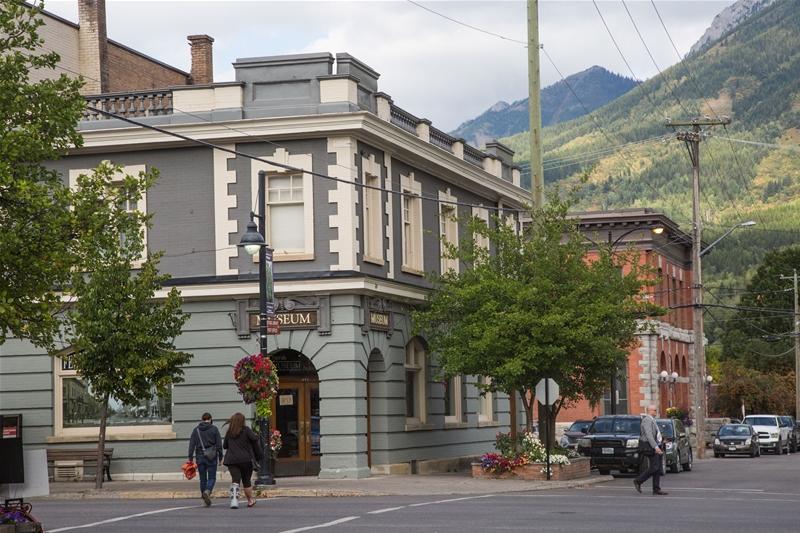 Fernie Museum in Fall