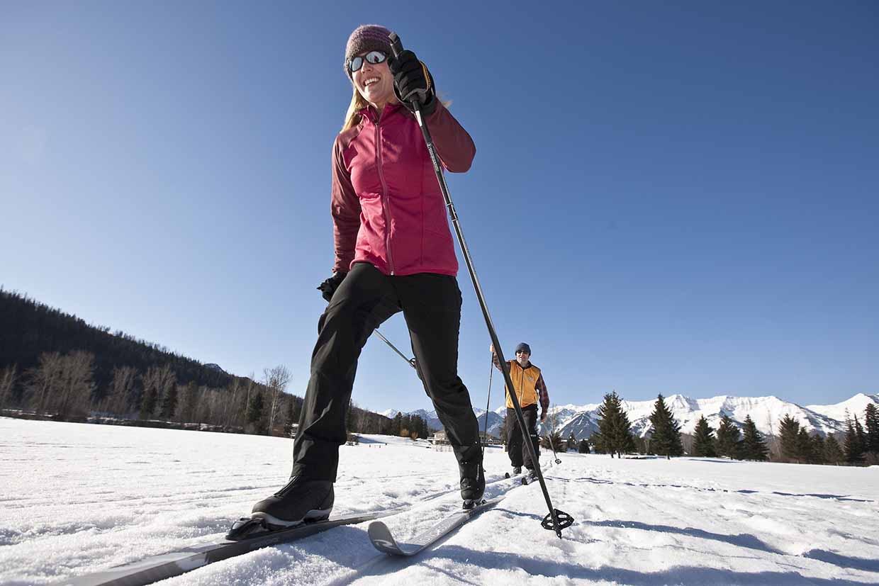Cross Country Skiing at Fernie Golf and Country Club