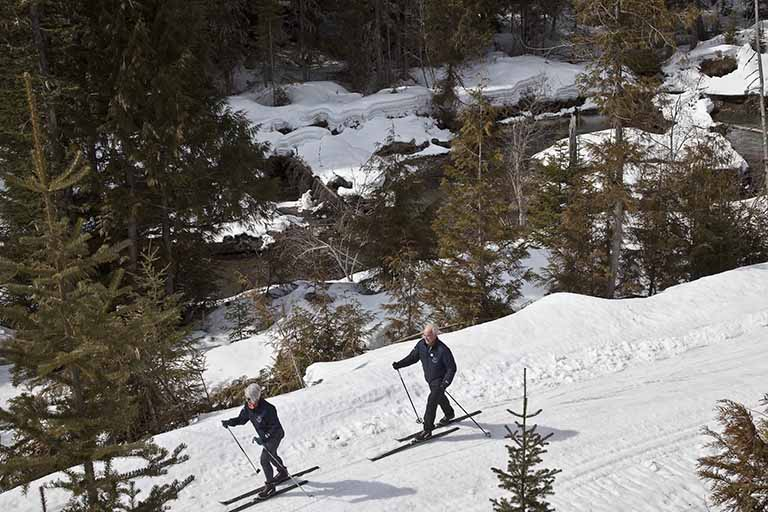 Cross Country Skiing at Elk Valley Nordic Centre