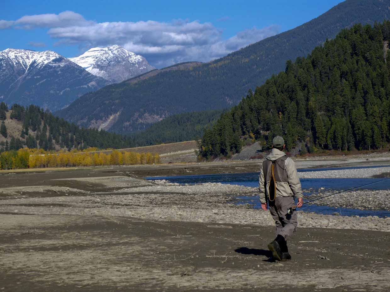 Fly fishing in Fernie with FWA