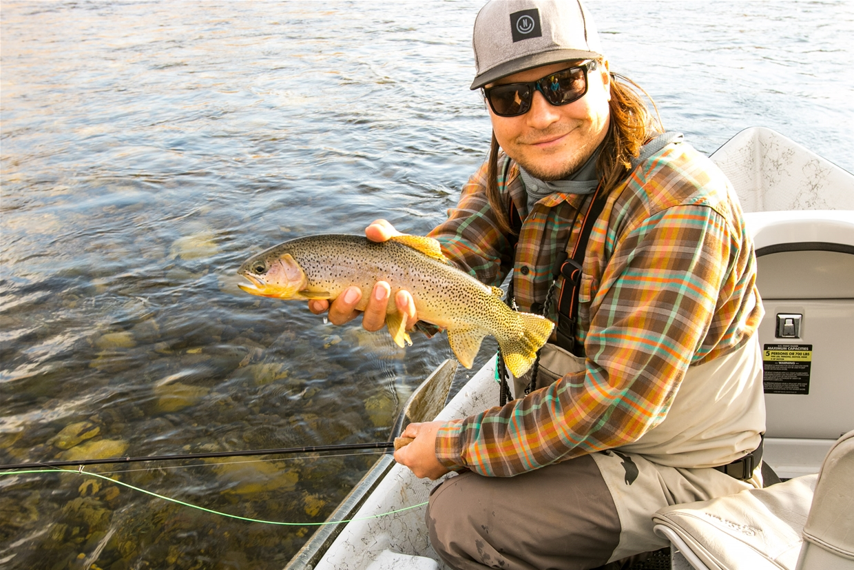 Elk Rivers famous Cutthroats.