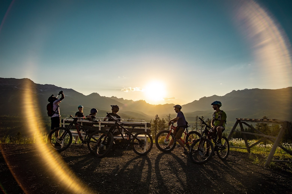 Group rides weekly in summer