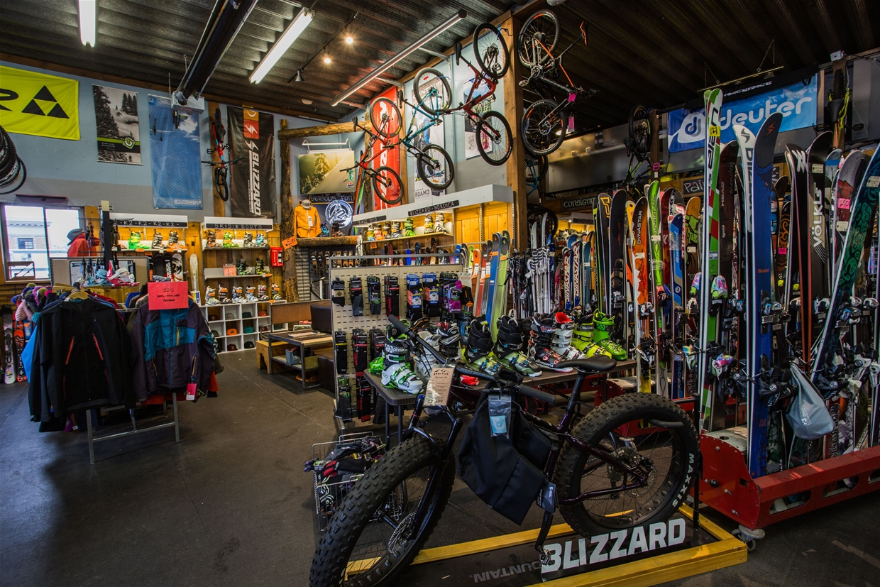 Skis, Bikes, Snowshoes - we've got all the toys!
