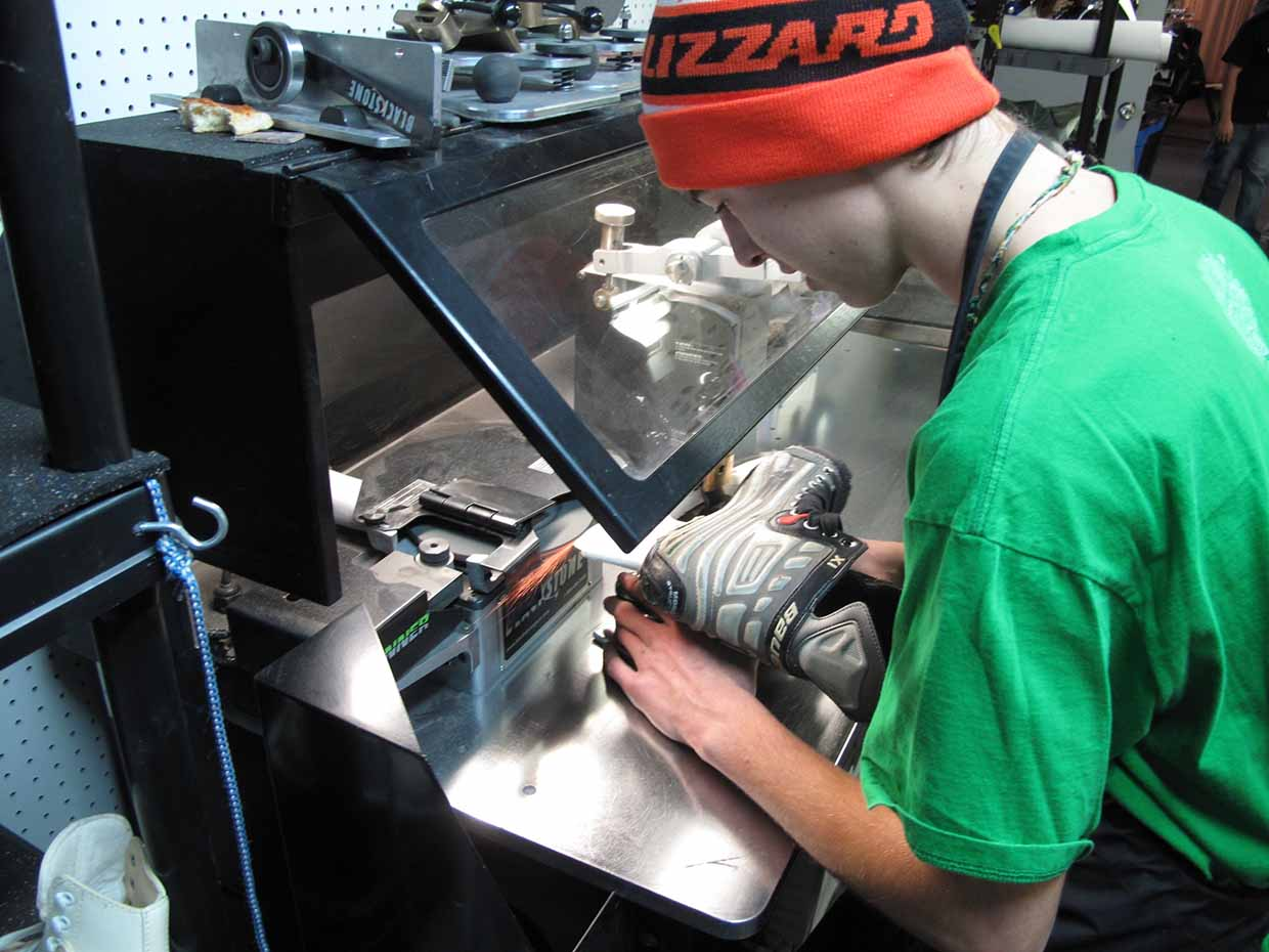 Skate sharpening and skate rentals available