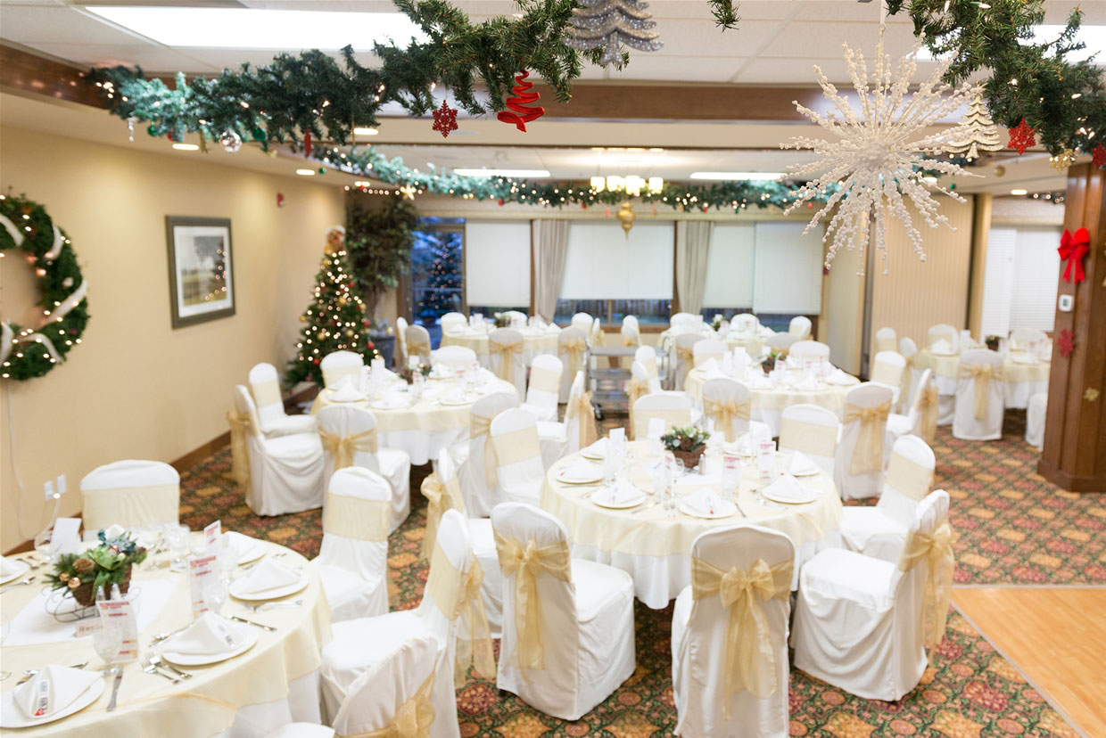 Grand Ballroom at the Best Western - Christmas Event