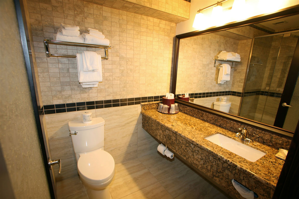 Diamond Suite bathroom