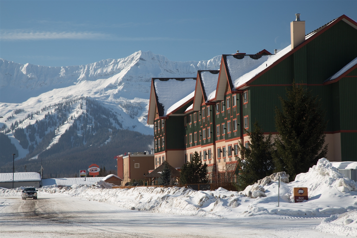 Places to Stay Fernie BC - Best Western Plus