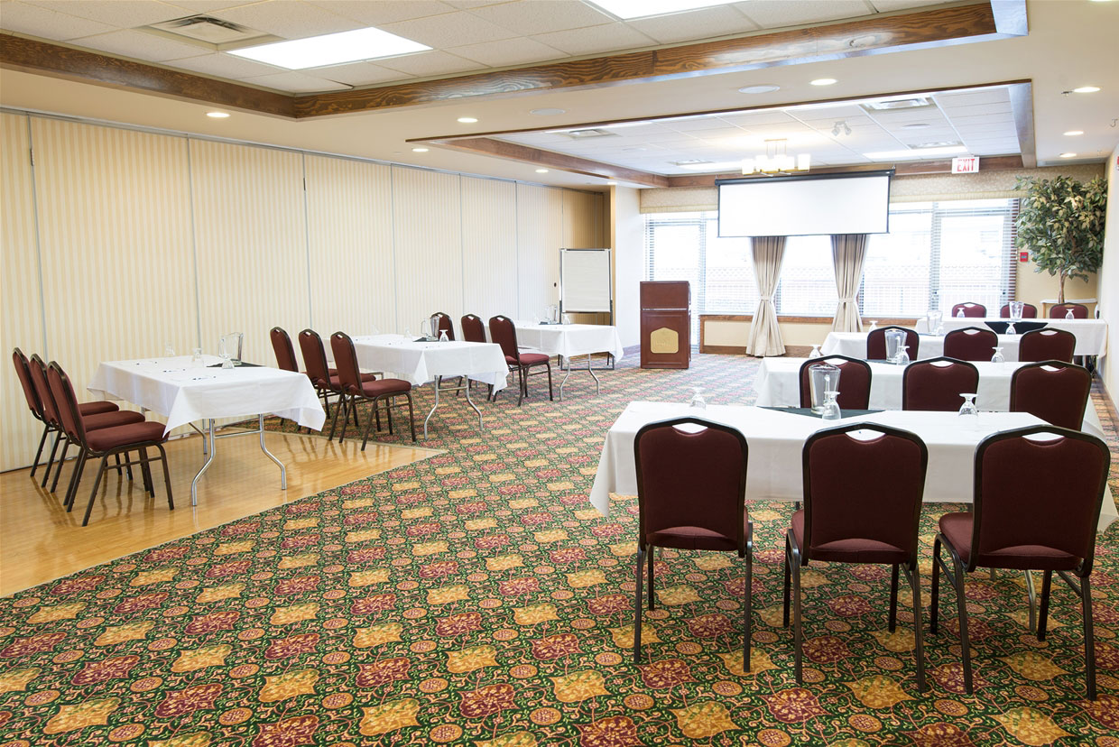Mount Proctor Room at the Best Western PLUS - Classroom set up