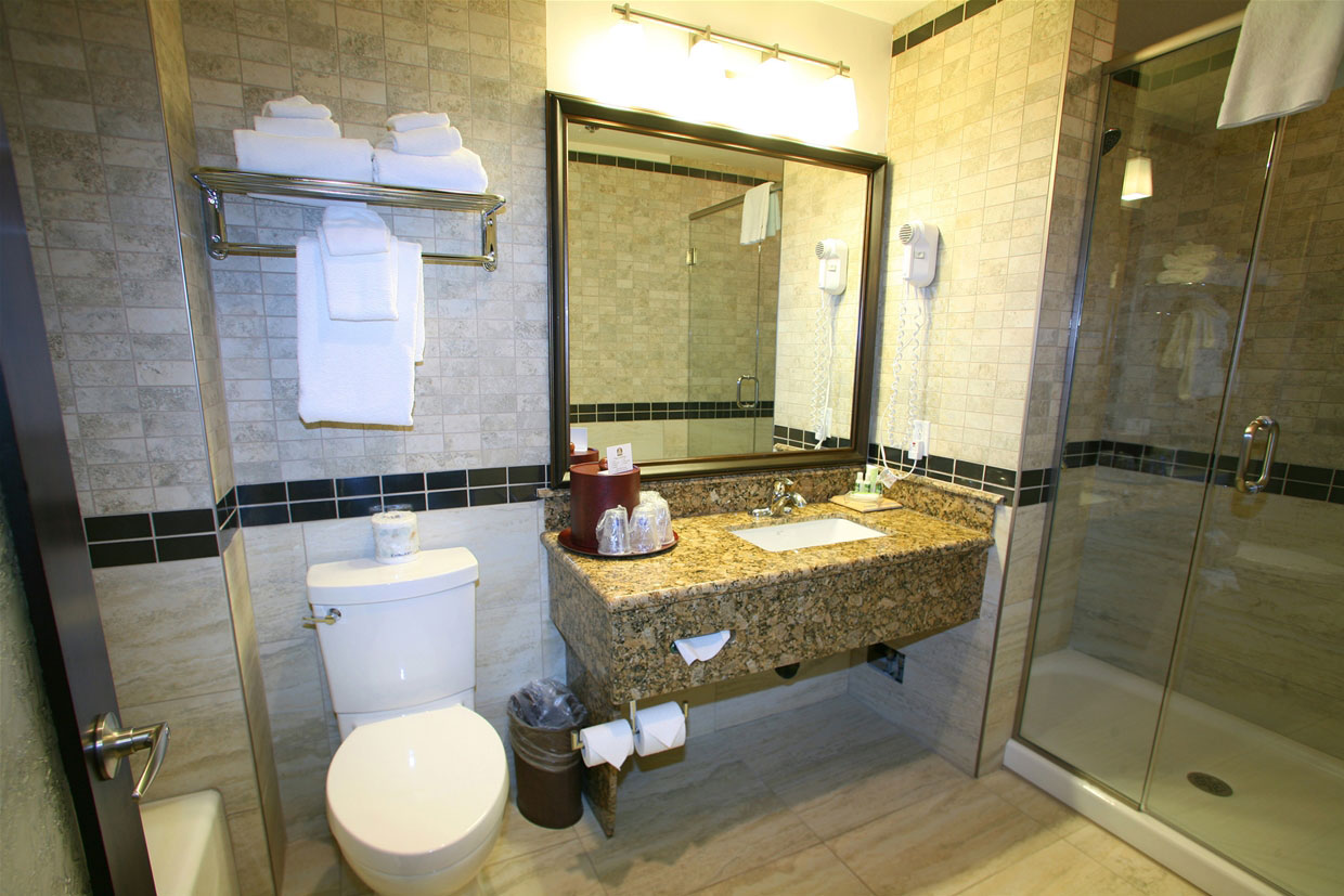Platinum Suite bathroom