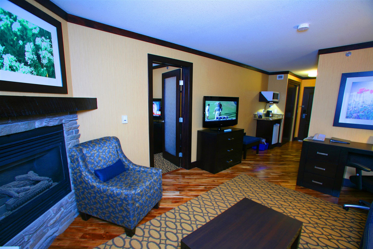 Platinum Suite living area