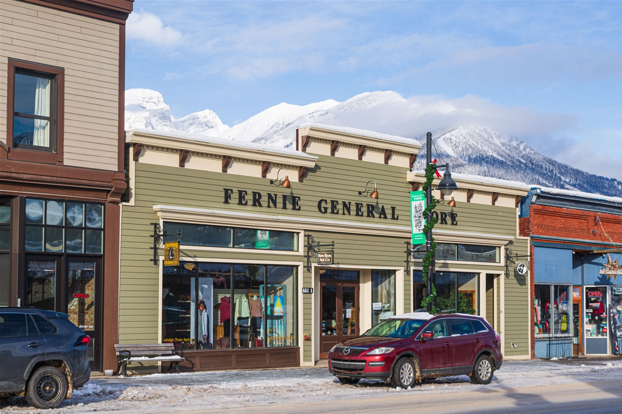 Find Ghostrider Trading Co. in Fernie's Historic Downtown