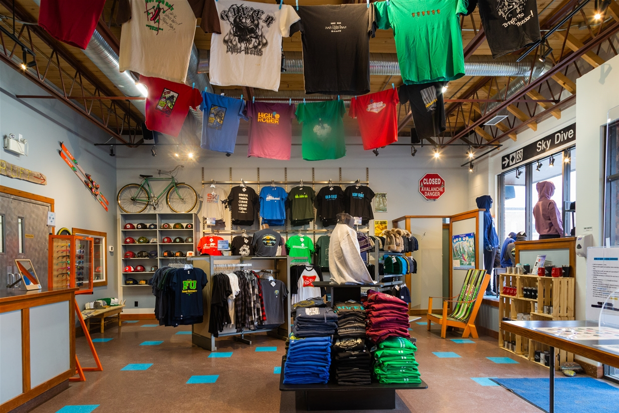 Fernie, BC branded gifts, and unique custom apparel at Giv'er Shirt Works