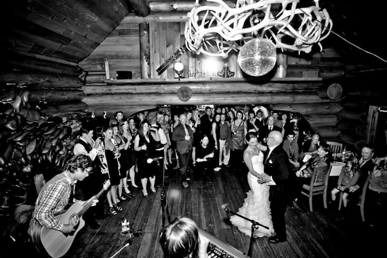 Wedding at Island Lake Lodge