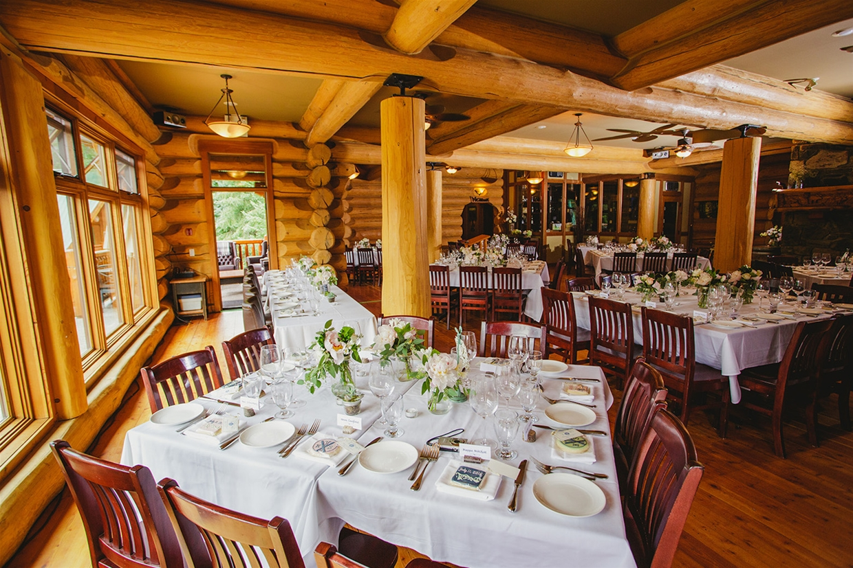 Tamarack Lodge Reception Space