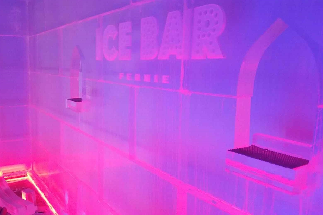 Ice Bar in Pink