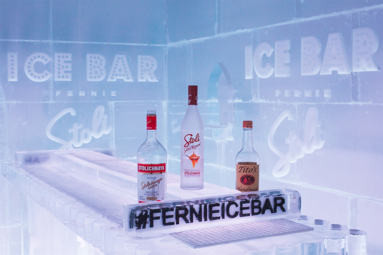 Welceome to the Ice Bar