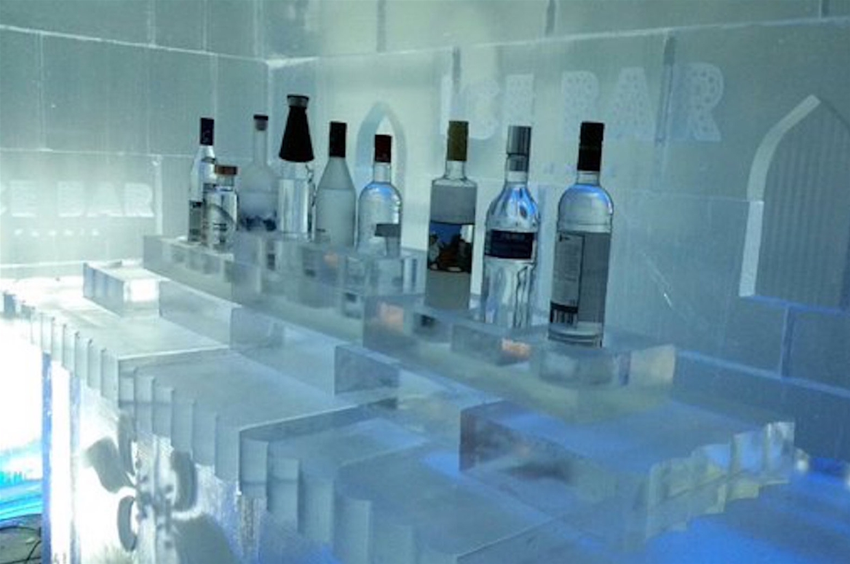 Ice Bar Vodka