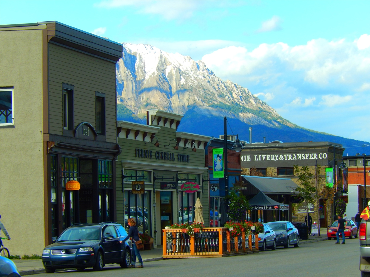 Loaf Bakery in downtown Fernie