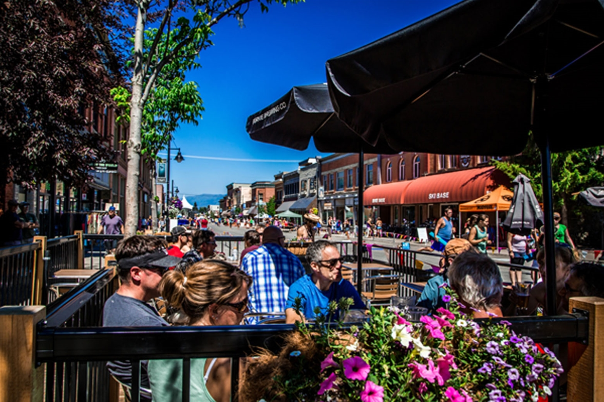 Downtown Summer Patios
