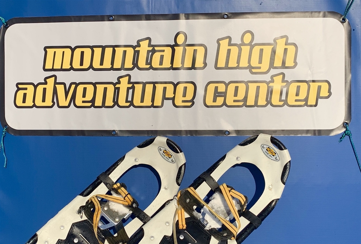 Snowshoeing with Mountain High Adventures