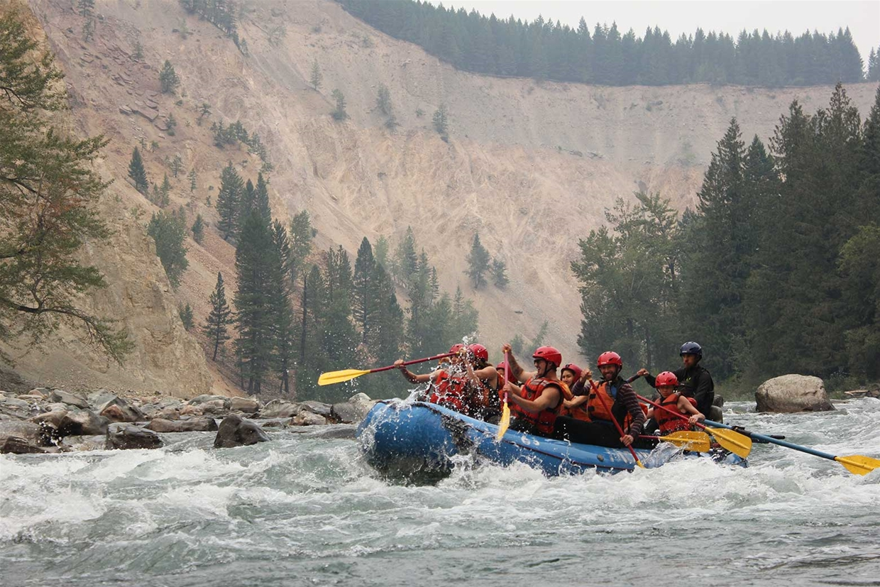 Rafting with Mountain High Aventures
