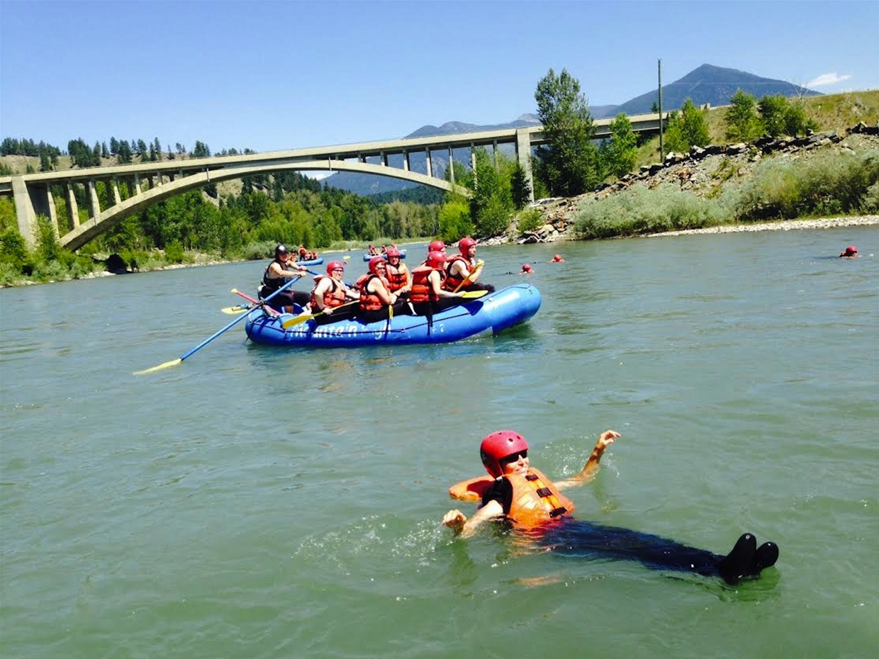Enjoy a day on the river with Mountain High Adventures