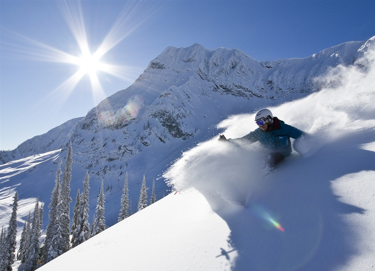 Unforgettable lines at Fernie Alpine Resort