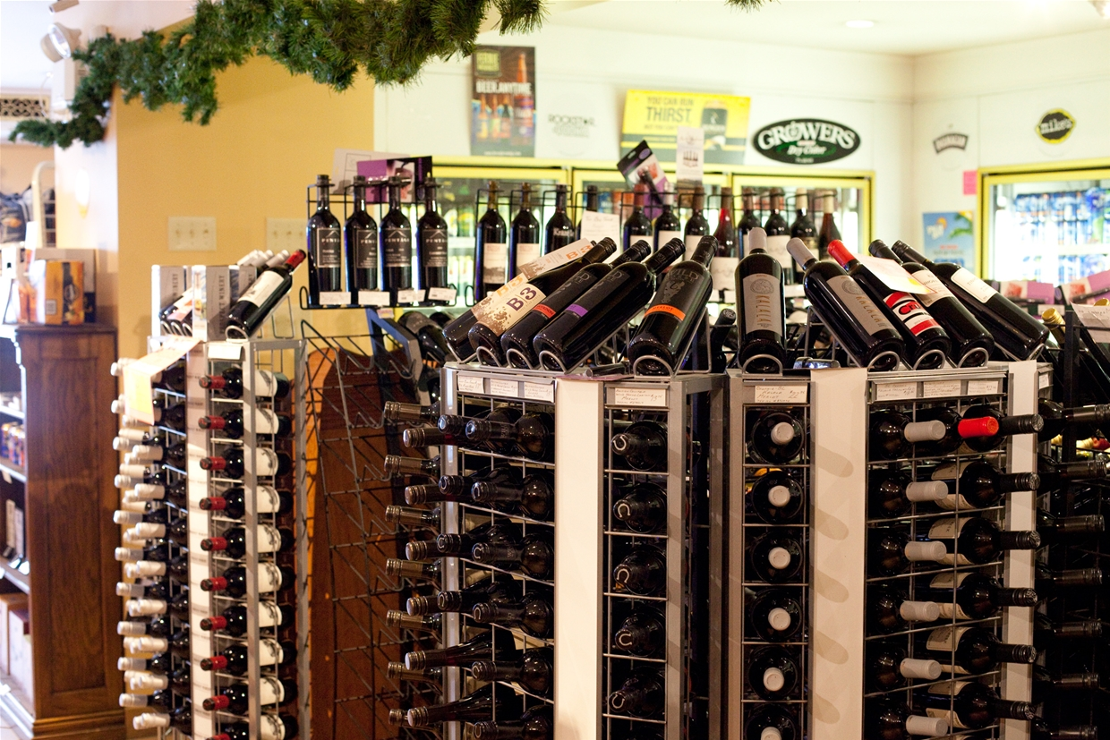 Spirits Beer & Wine store