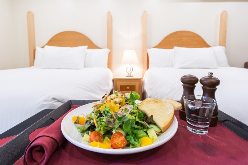 Room Service Available at Park Place Lodge