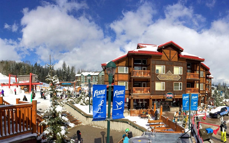 Fernie ski hill wedding