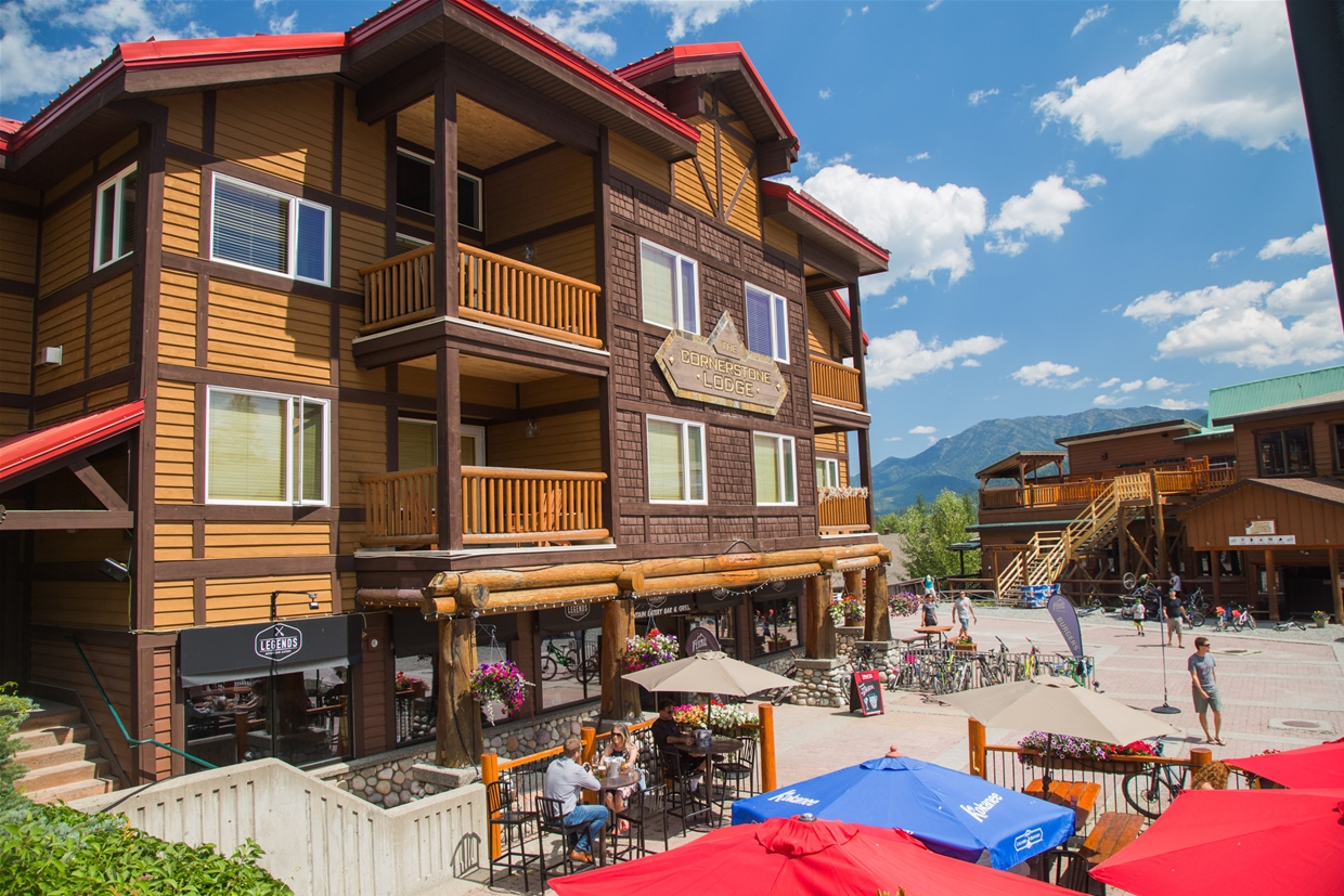 Cornerstone Lodge is right in the heart of the resort