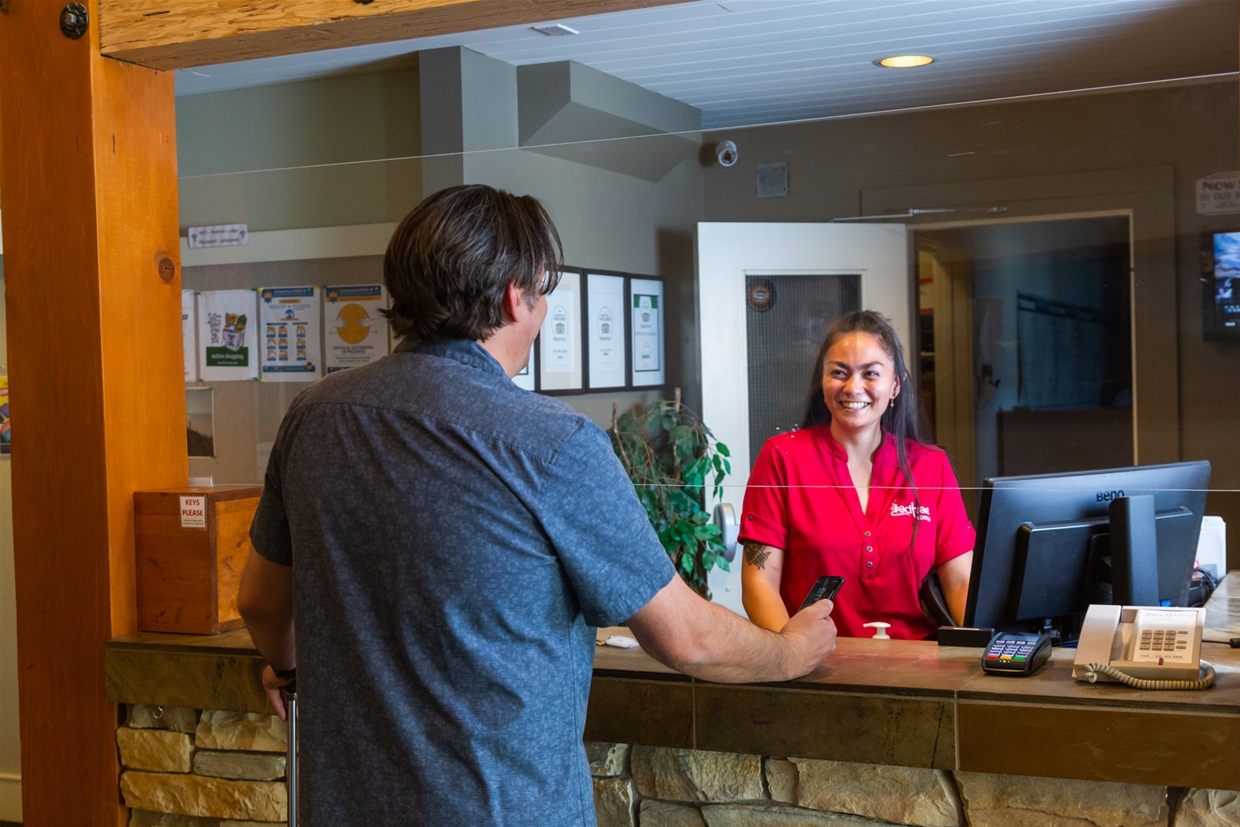 A warm and safe welcome awaits at Red Tree Lodge