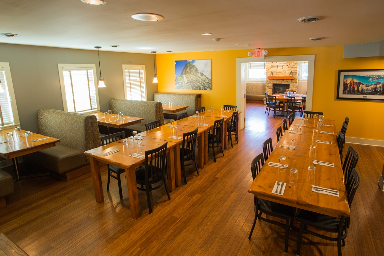 Smokehouse is bookable for groups and events