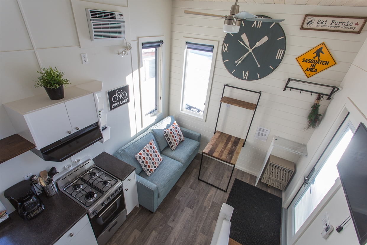 Inside Snow Valley Lodging's new Tiny Homes