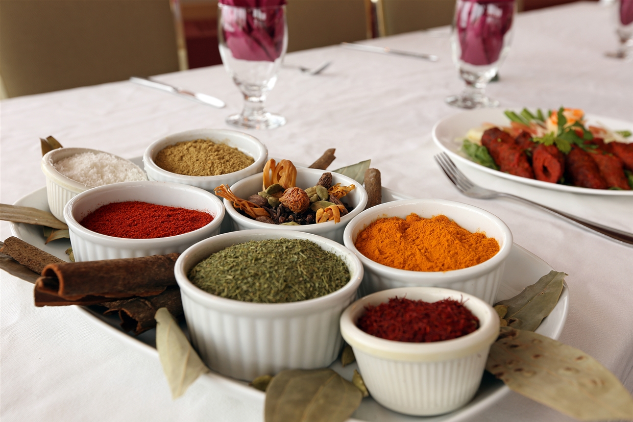 Authentic spices and flavours